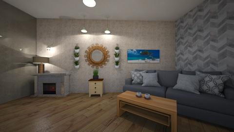 Living5 - Modern - Living room  - by Amelia i Szymon