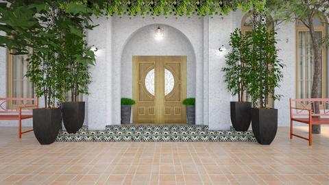 Casa Latina - Garden  - by diegobbf
