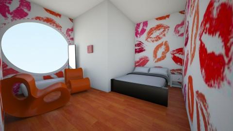 Kisses - Vintage - Bedroom  - by Blanchette