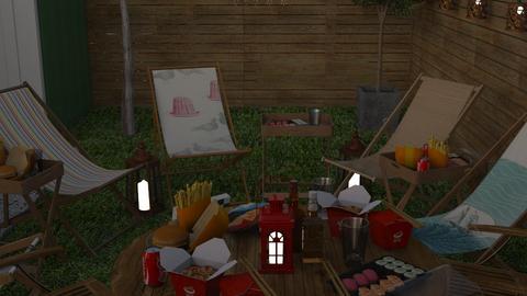 LANDON HOME - Garden  - by zozan