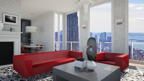 Livingroom017 - Modern - Living room  - by Ivana J