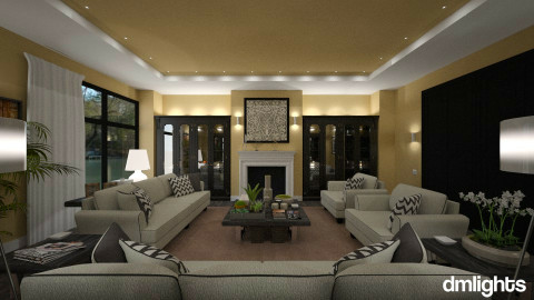 Colette - Classic - Living room  - by Claudia Correia