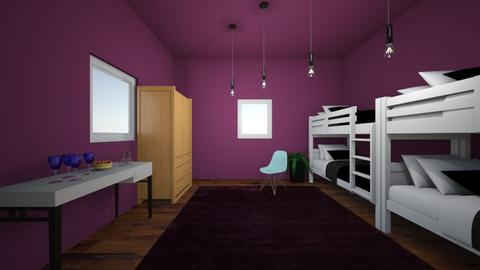Cabin 12 Dionysus - Bedroom  - by pipermclean
