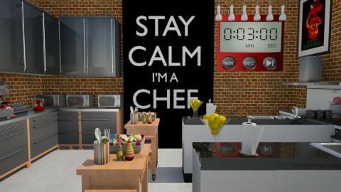 Master Chef Kitchen - Kitchen  - by sissybee