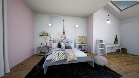 Paris Storm - Modern - Bedroom  - by Meg_