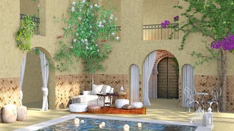 Marrocn_Raid - Garden  - by ChichiAsr