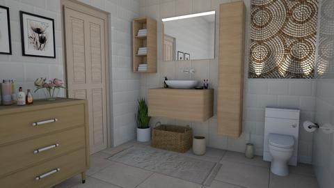 Small Bathroom - Bathroom  - by nkanyezi