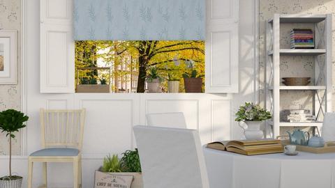 Tea Time - Vintage - Living room  - by Sally Simpson