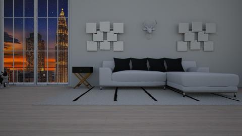 Diamond - Living room - by Vanessa Aubrey