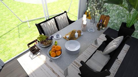 Indoor picnic - Kitchen  - by Noa Jones