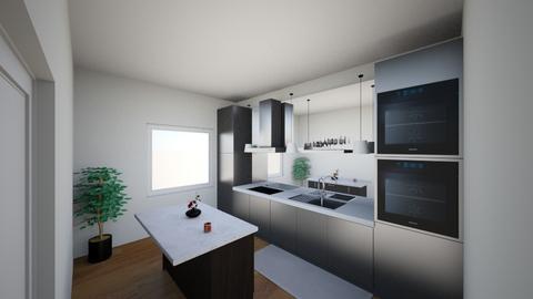 lille lejlighed - Bathroom  - by ARCADE