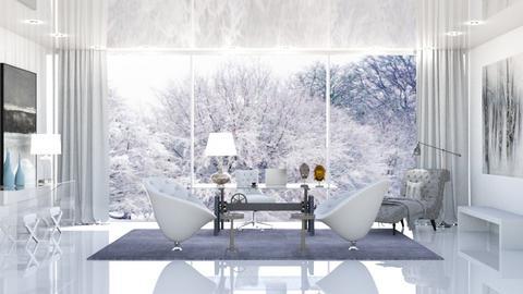 Wintery Day Office - Modern - Office  - by jjp513