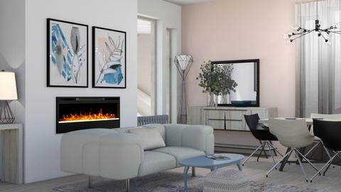 japandi_contest_varsutari - Living room  - by VarSutari