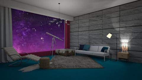 stars living - Living room  - by nihalruttala