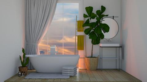 Modern Bathroom 2 - Bathroom  - by KittyKat28