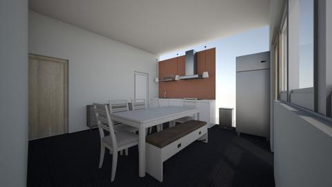 Kuhinja - Retro - Kitchen  - by LukaEpic