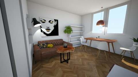Living room fresh - Minimal - Living room  - by Megan94