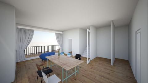 room 3 - Modern - Bedroom  - by celion