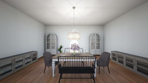 Dining room  - Minimal - Dining room  - by Rubybradt