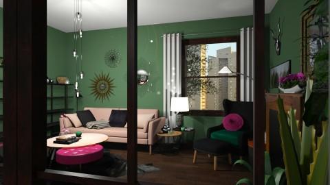 small living room 1 - by Jolanta PD