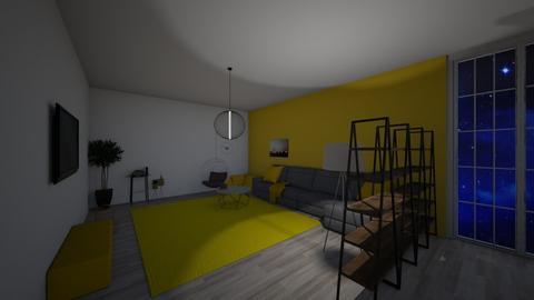yellow relax - Modern - Living room  - by lemon boi