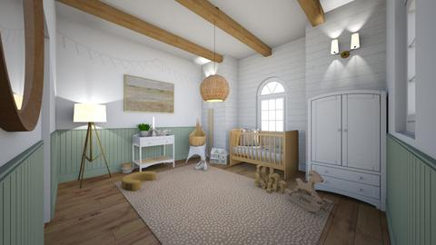 Neutral Nursery  - Kids room  - by hmm22