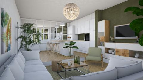 Tiny Tri Level - Eclectic - Living room  - by Theadora