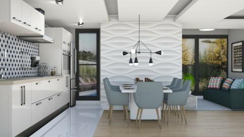 Palio - Modern - Kitchen  - by aletamahi