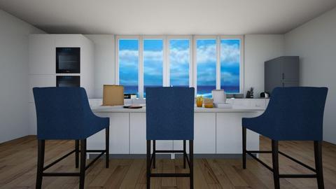 unfineshed kitchen - Modern - Kitchen  - by TimmyDesigner
