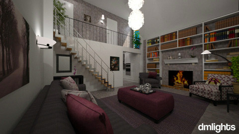 Condo - Classic - Living room  - by Lackew