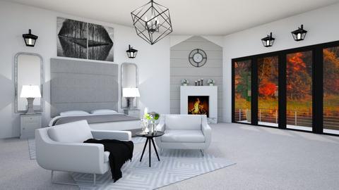 Fall Zen - Bedroom  - by creato