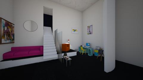 Playful Office - Modern - Office  - by designkitty31
