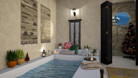 Sicilian Christmas - Bathroom  - by JennieT8623