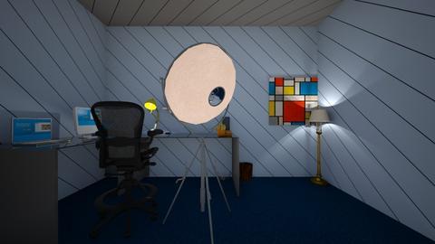 Gaming bedroom setup - Eclectic - by Iceekreme