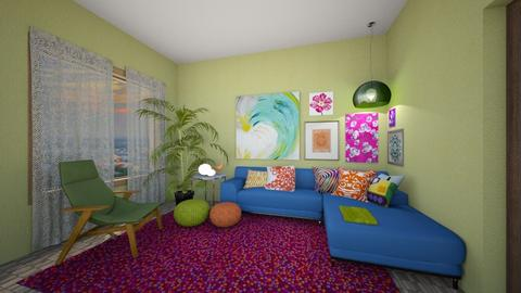 Color - Living room  - by amyskouson