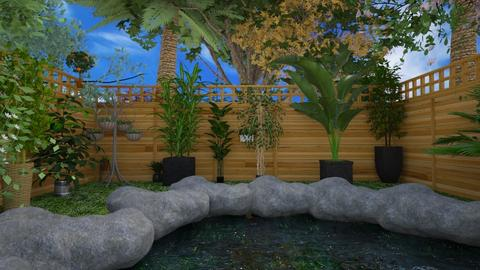 graden  - Garden  - by Malithu