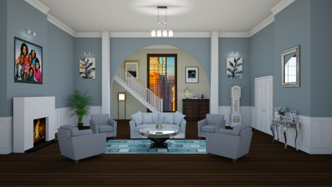 Claire y Cliff Huxtable - Classic - Living room  - by deleted_1524667005_Elena68