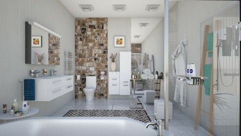M_Selection - Modern - Bathroom  - by milyca8