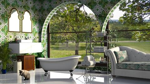 Relax - Bathroom  - by ZuzanaDesign