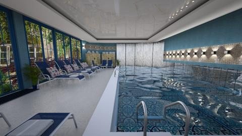 Hotel Pool Template td - by Teri Dawn