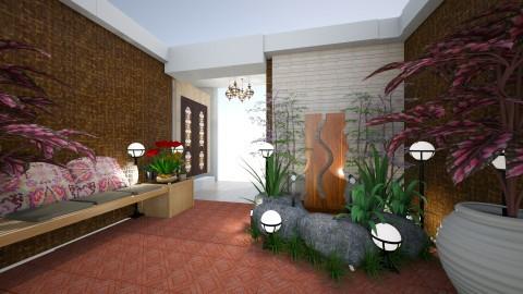 garden entry way - Modern - Garden  - by kla