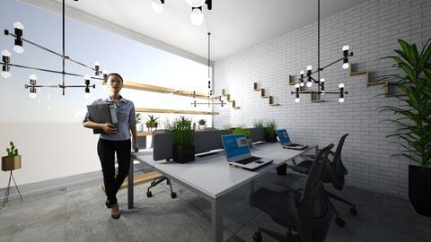 Work area office - Office  - by leyaaa