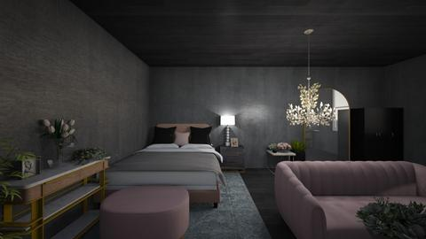 blackpink - Modern - Bedroom  - by giathao09