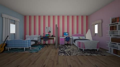 lucky girls - Bedroom  - by 29catsRcool