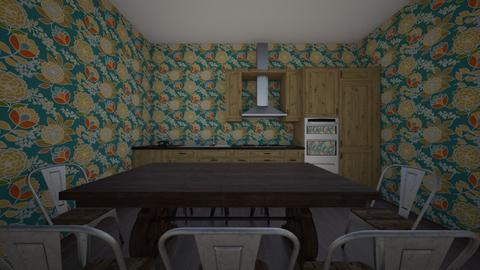 50s kitchen  - Kitchen  - by suppafiola
