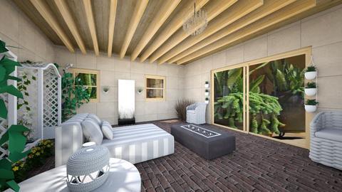 patios  - Garden  - by artecoInterior