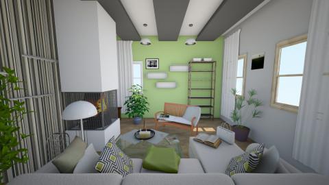 Livingroom - Living room - by Olga Kluk