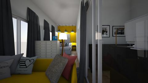 Powerful  - Modern - Bedroom  - by LazyPureRain