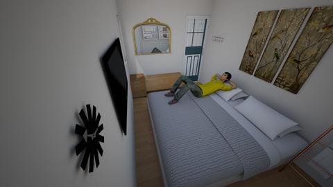 Kamar Utama - Modern - Bedroom  - by miailahude