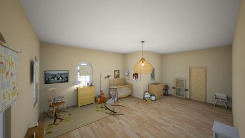 neutral nursery  - Kids room  - by lanaysha